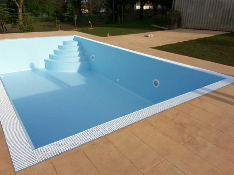 Isotec steirerpool isotec steirerpool folienauskleidung for Pool mit folie auskleiden